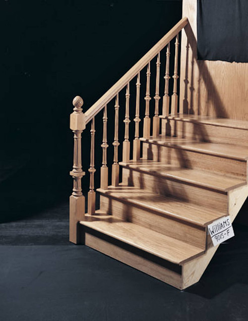 "9015 37.5"" The Williamsburg Plain Pin Top Baluster Balustrade"