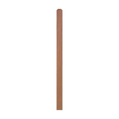 "4000 48"" S4S Newel with Chamfered Top"
