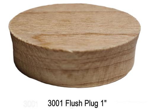 "3001 Tapered 1"" Flush Plugs"