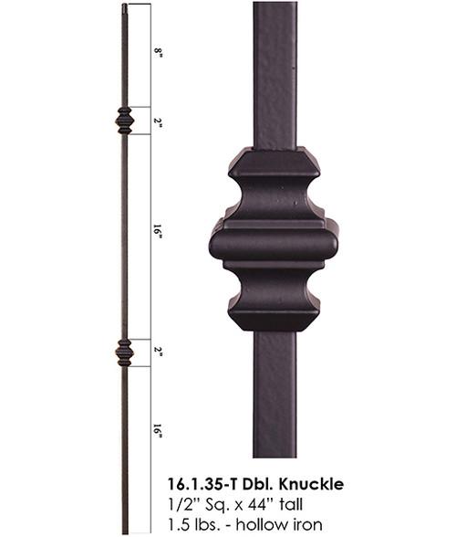 HF16.1.35-T Double Knuckle Tubular Steel Baluster
