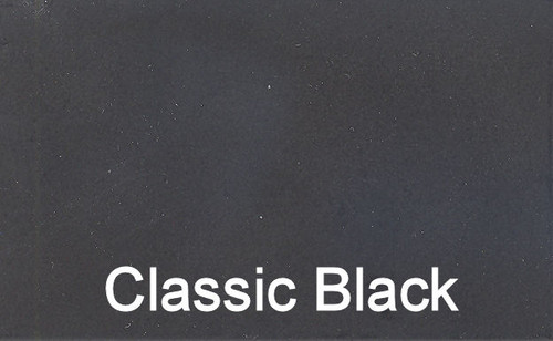 Classic Black Powder Coating