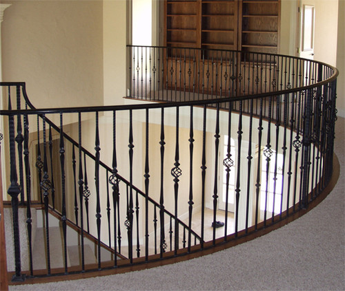 Gothic Balusters with single basket, single and double knuckles.