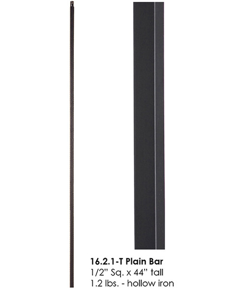 HF16.2.1-T Plain Square Bar Tubular Steel