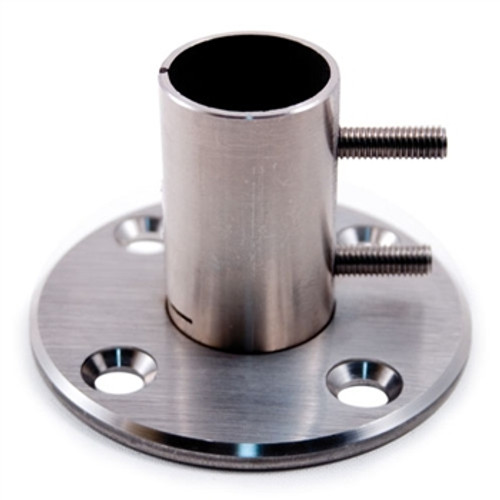 E0213 Stainless Steel Wall & Floor Flange