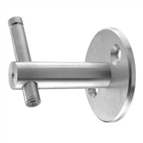 E0221 Stainless Steel Handrail Support, Adjustable