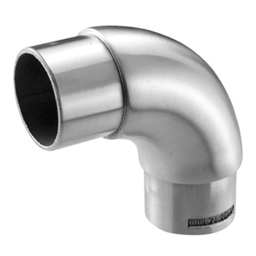 "E450 Stainless Steel Elbow, 90-degree, 1 2/3"" Tube"