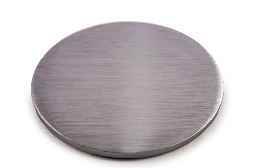 """E065 Stainless Steel Disc 3 15/16"""" Dia. x 5/32"""" Flat"""