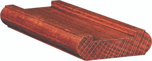 """6046 Shoerail for 1-3/4"""" square balusters, Red Oak"""