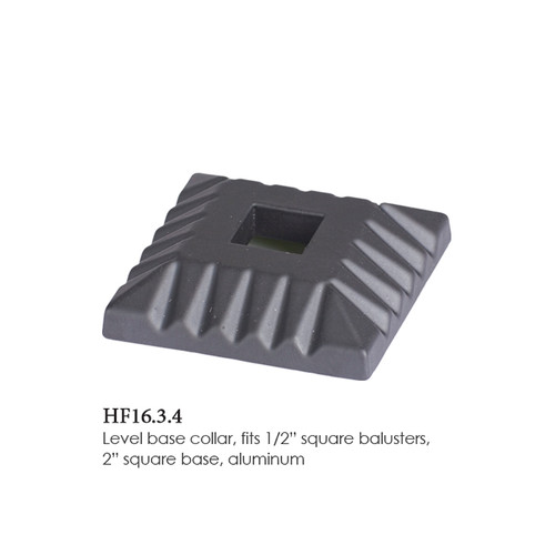 "HF16.3.4 Flat Square Shoe 1/2"" Only"