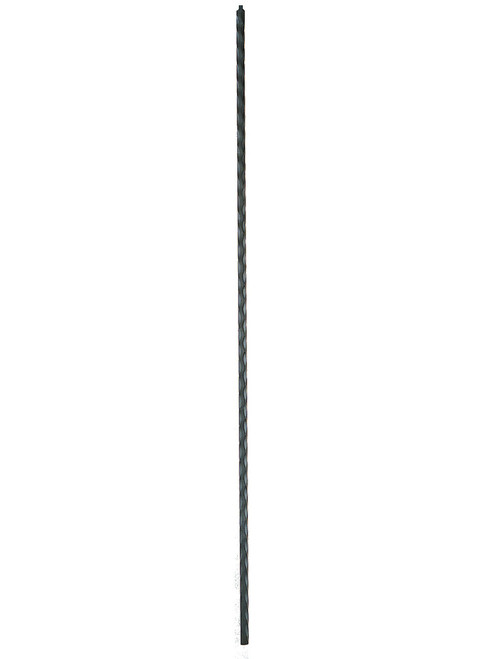 1000 Plain Hammered Iron Baluster