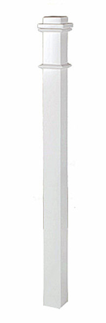 4076 Primed Box Newel Post
