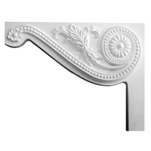 SB08X06PE-L Left Hand Pearl Stair Bracket
