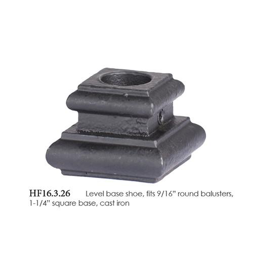 """16.3.26 Iron Flat Shoe 9/16"""" Round"""