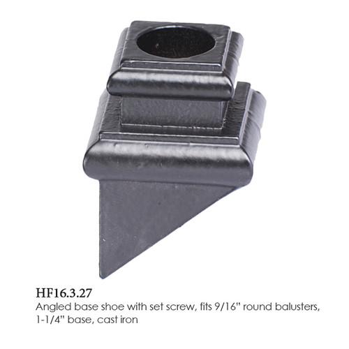 "HF16.3.27 9/16"" Round Pitch Shoe"
