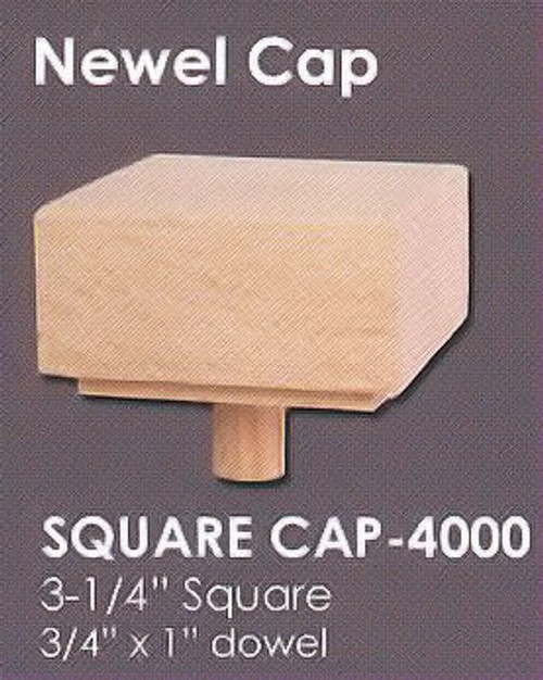 Square Cap - 4000, Red Oak
