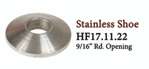 HF 17.11.22 Round Stainless Shoe Collar