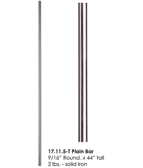 HF17.11.5-T Stainless Steel Plain Bar Tubular