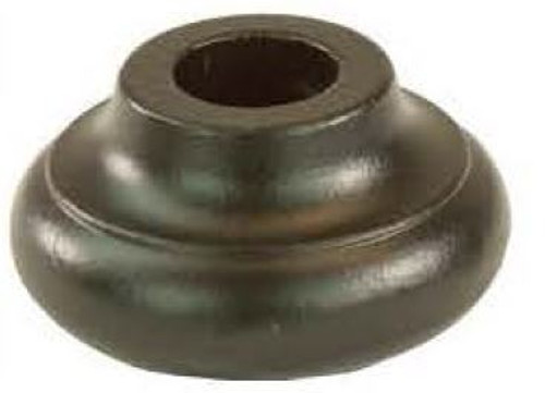 R-10 2375 Round Flat Shoe for the 5/8-inch Venetian Balusters, Shown in Oil Rubbed Bronze