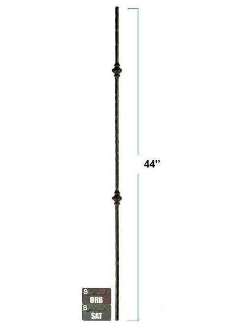 2773 Double Victorian Round Iron Baluster
