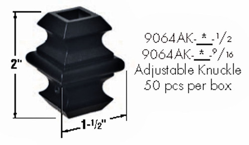 9064AK Adjustable Knuckle