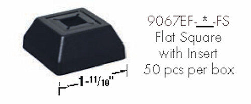 9067EF-FS Easy Fit Flat Square Shoe