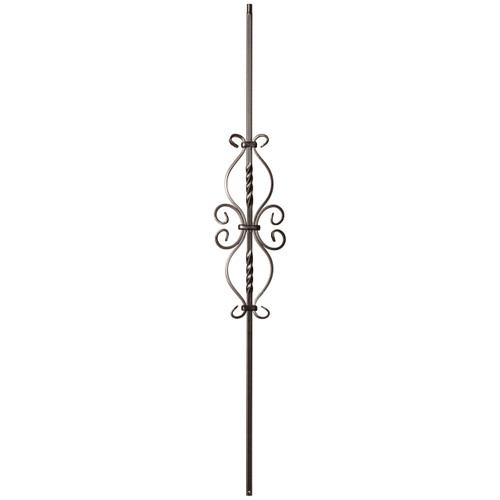 9057SS Double Twist and Dragonfly Baluster