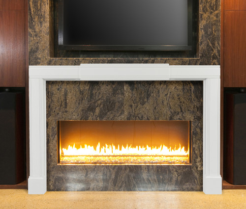 The 201 Emory Adjustable MDF Mantel Surround