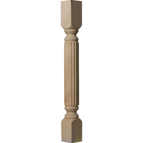 "Raymond Reeded Cabinet Column 3-1/2"" Version"