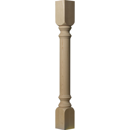 Traditional Cabinet Column 3 1/2""