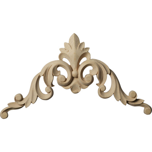 Raymond Corner Onlay Applique, Large (ONL10X10X01RA)