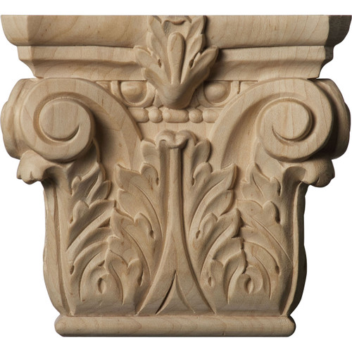 Floral Pilaster Capital, Small (CAP06X02X05FL)