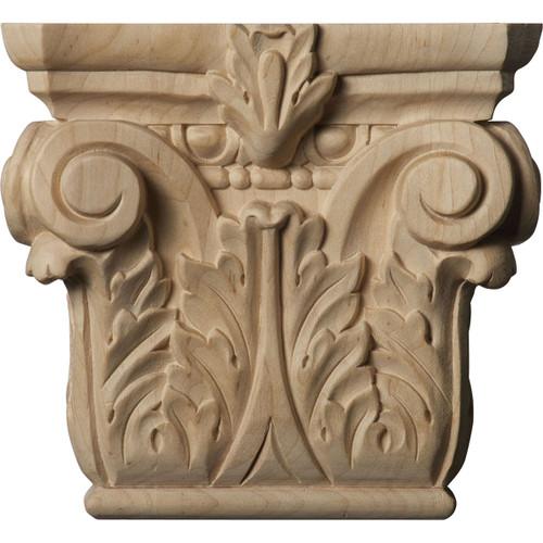 Floral Pilaster Capital, Small (CAP06X02X05FL)