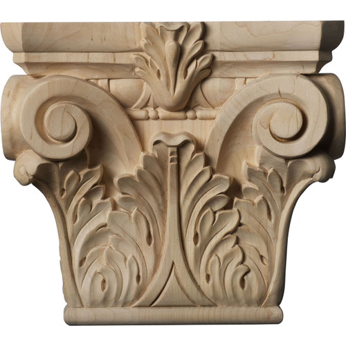 Floral Pilaster Capital, Medium (CAP09X03X08FL)