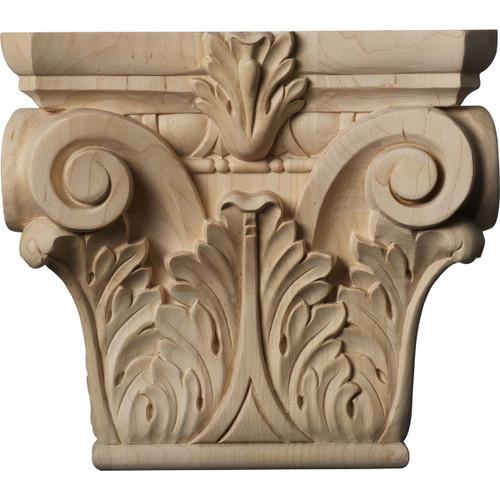 Floral Pilaster Capital, Medium (CAP09X03X08FL)