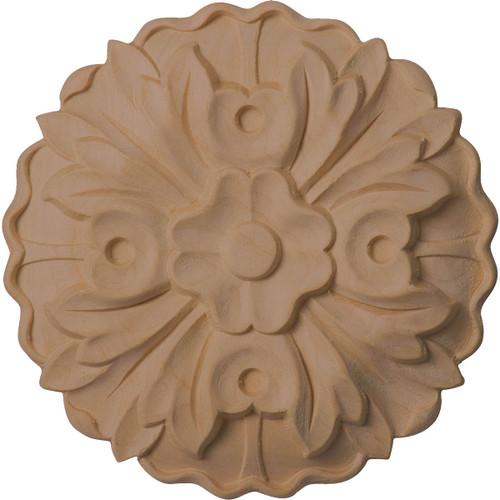 """Kent Floral Rosette, 5"""" Wide (ROS05X05KE)"""