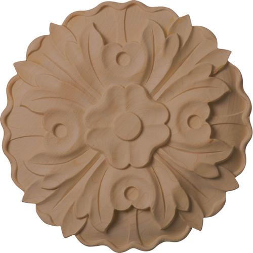 """Kent Floral Rosette, 9-1/4"""" Wide (ROS09X09X01KE)"""