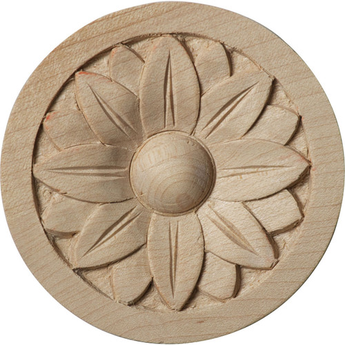 """Bedford Rosette, 2-3/4"""" Wide (ROS02X02BE)"""