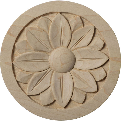 """Bedford Rosette, 5"""" Wide (ROS05X05BE)"""