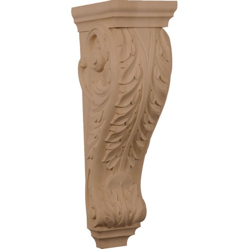Acanthus Pilaster Corbel 6 1 4 X 3 X 22 Corw06x03x22pa Westfire Stair Parts 0174