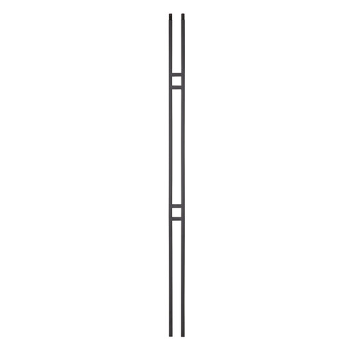 "9087CS 2 1/4"" x 44"" Double Bar Contemporary Baluster"