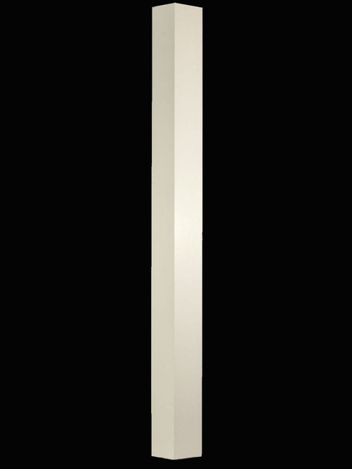 "C-4078 4-1/2"" IBN Plain Interchangeable Box Newel Post, Primed"