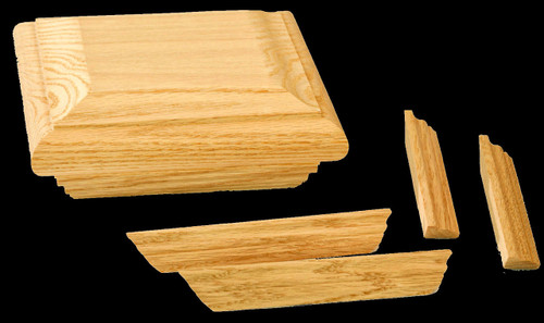 C-4078-TC Trim Kit, Red Oak