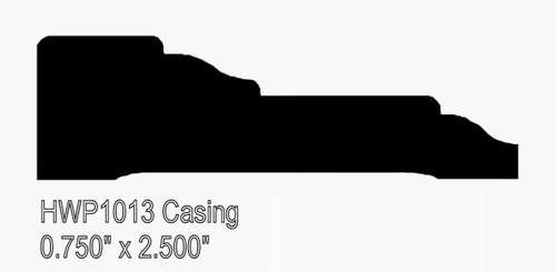 """1013 2-1/2"""" Hardwood Casing"""