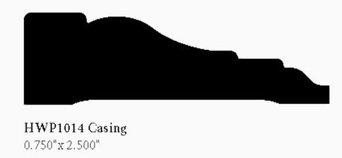 """1014 2-1/2"""" Hardwood Casing"""