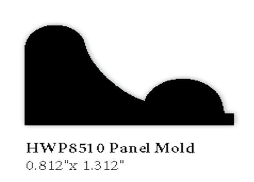 8510 Hardwood Panel Mold