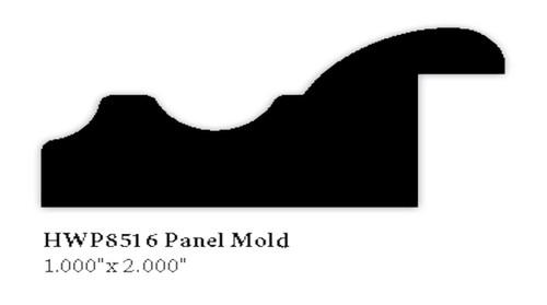 8516 Hardwood Panel Mold