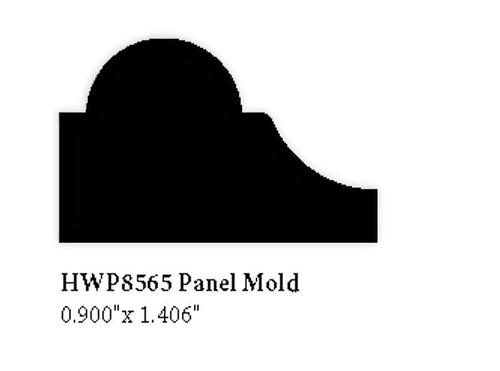 """8565 Hardwood Panel Molding, 0.9"""" x 1.406"""""""