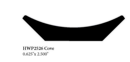 "2526 0.625"" x 2.5"" Cove Molding"