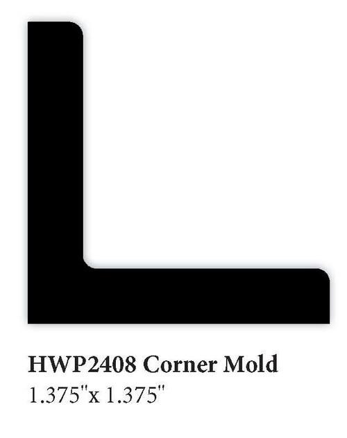 """2408 1.375"""" x 1.375"""" Corner Molding"""