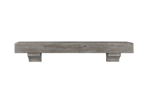 "The Shenandoah Shelf, 60"" Cottage Gray"